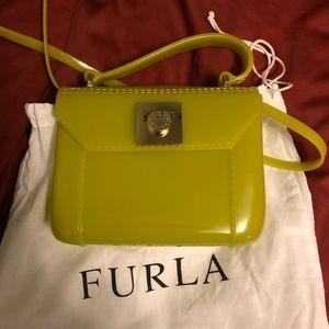 Vintage Furla Bon Bon Mini Crossbody Bag